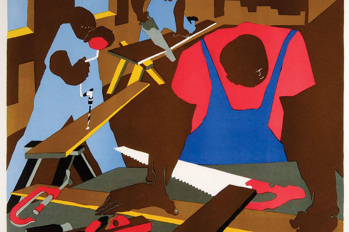 Carpenters, 1977Courtesy of the Reginald F. Lewis Museum