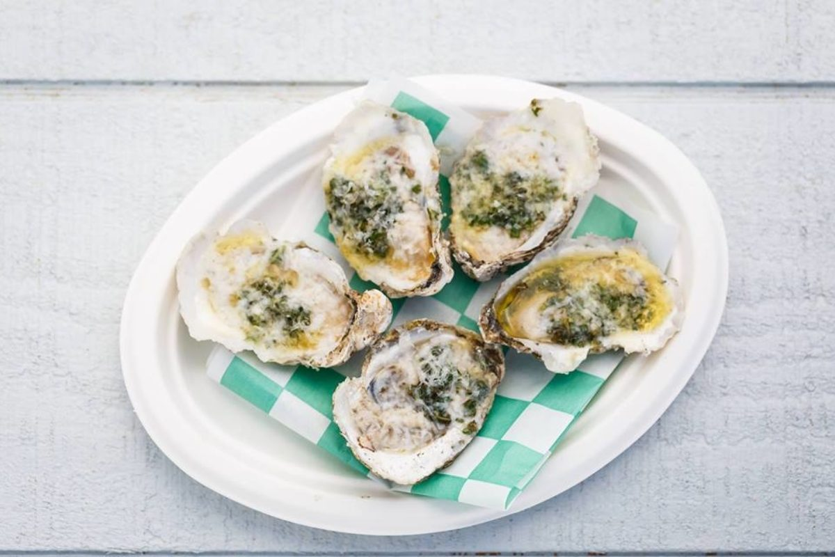 Orchard Point oysters.Facebook