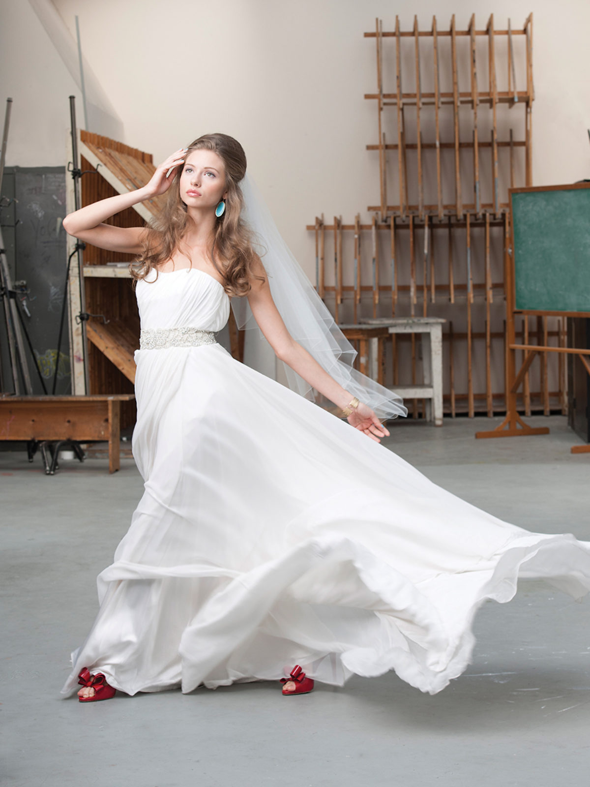 The Way She Moves - Baltimore Bride magazine