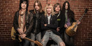 Kix, backstage, before a show in October.Photography by Mike Morgan
