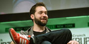 Alexis Ohanian speaks onstage during TechCrunch Disrupt in May.Courtesy of TechCrunch