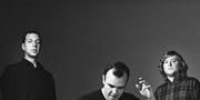 Future Islands, from left to right: Gerrit Welmers, Samuel Herring, and William Cashion.Photo by Tim Saccenti