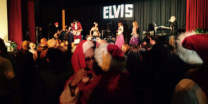 The crowd at Night of 100 Elvises.Photography by Ron Cassie