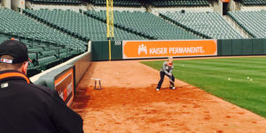 Ball boys and girls tryouts at Oriole Park at Camden Yards.Photography by Ron Cassie