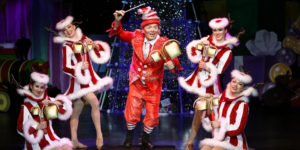 The Cirque Dreams Holidaze performance is coming to The Lyric this month.Courtesy of Cirque Productions