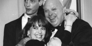 John Waters, Pat Moran and Divine at the Baltimore world premiere of Hairspray in 1988.Courtesy of DivineOfficial.com