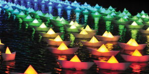 Everything will be illuminated during Light City Baltimore.Courtesy of the Baltimore Office of Promotion & the Arts