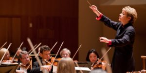 Music Director Marin Alsop will lead the BSO during its 100th season.Chris Lee