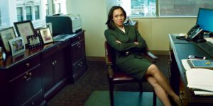 Marilyn Mosby in her office in downtown Baltimore. Annie Leibovitz for Vogue