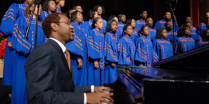Morgan State University choir.Wikimedia Commons
