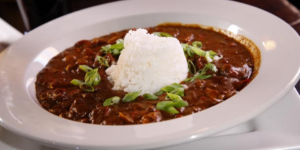 Sláinte's seafood gumbo.The Food Network