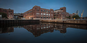 Under Armour's Tide Point location.Photography by David Colwell