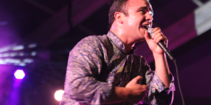 Future Islands performs this weekend at Ottobar.Photography by Meredith Herzing