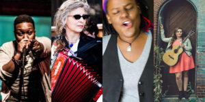 From left to right: J. Pope, Anne Watts, QueenEarth, Letitia VanSantCourtesy of the Creative Alliance