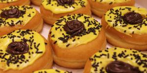 Black-Eyed Susan donuts.Courtesy of Dunkin' Donuts