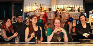 Bartenders show off their skills at Pen & Quill.Photos by Meredith Herzing