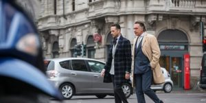 Brian Sacawa, left, of He Spoke Style and his fasion idol Giampaolo Alliata.Courtesy of He Spoke Style