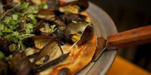 Mussel PizzaCourtesy of Birroteca