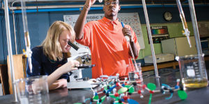 Poly offers college-level science courses including genetics and organic chemistry.Photo by Christopher Myers