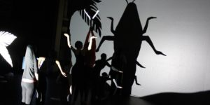 BSA students rehearse for their spring production, Imagined WorldsCourtesy of Baltimore School for the Arts