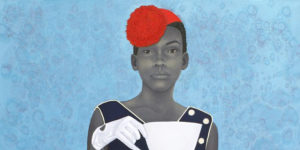 "Amy Sherald's painting ""Miss Everything (Unsupressed Deliverance).""Courtesy of Amy Sherlad"