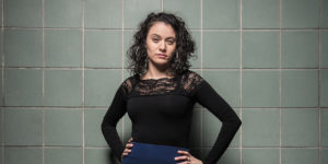 "Trafficking survivor and advocate Withelma ""T"" Ortiz Walker Pettigrew.Photography by Mike Morgan"