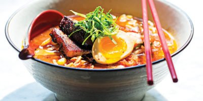 The ramen bowl at Dooby's. Photography by Scott Suchman