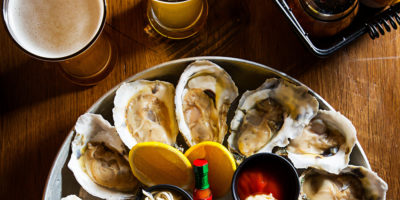 Offerings from the raw bar.Photography by Scott Suchman