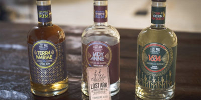 Lost Ark's label art is done by Baltimore-based firm Exit 10.Courtesy of Lost Ark Distilling