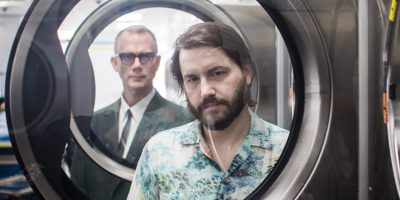 M.C. Schmidt, left, and Drew Daniel of Matmos.Photography by Josh Sisk