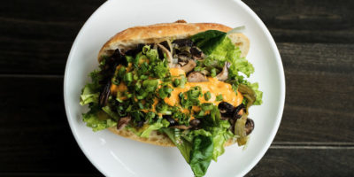 Funghi Philly at Stall 11. Photography by Scott Suchman