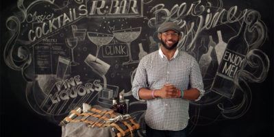 R. Bar's beverage director Aaron Joseph.Shine Creative