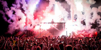 Calvin Harris performs at the 2015 Sweetlife Festival.BFA