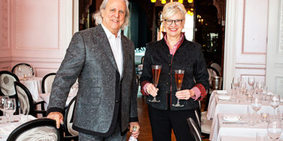 Owners Steve and Linda Rivelis.Photography by Scott Suchman