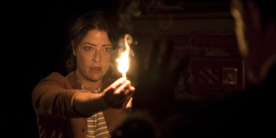 Actress Megan Anderson in Wait Until Dark.ClintonBPhotography