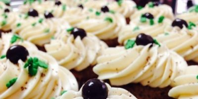 Chocolate Guinness cupcake with Bailey's buttercream frosting.Courtesy of IcedGems Baking.