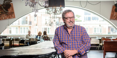 Restaurateur Robbin Haas presides at Encantada, his new spot inside AVAM. Photography by Mike Morgan