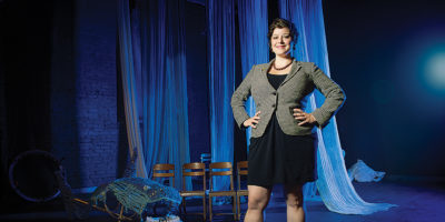 Single Carrot Theatre's artistic director Genevieve de Mahy.Photography by Christopher Myers