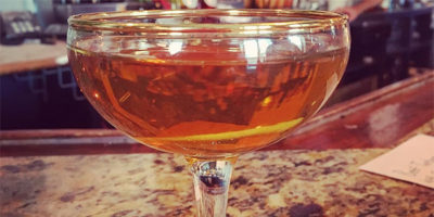 The negroni from Gnocco in Highlandtown.Photography by Jess Mayhugh