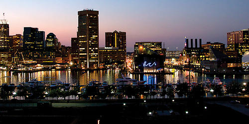Baltimore from Federal Hill. Photo by Cory Donovan