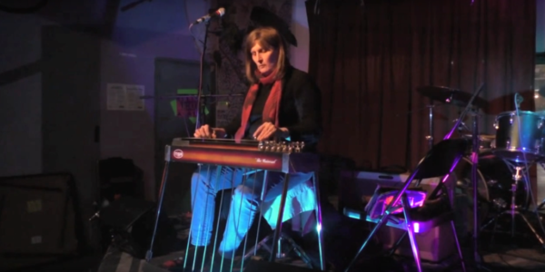 Pedal steel guitarist Susan AlcornVideo still