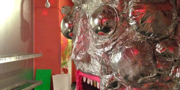 Wayne Coyne's installation entitled King's Mouth.Courtesy of AVAM