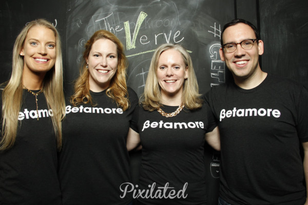 The Betamore team including Jennifer Meyer, third from left.Courtesy of Pixalated Photo Book