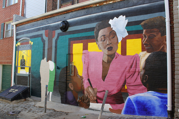 The best of baltimore since 1907 for Billie holiday mural