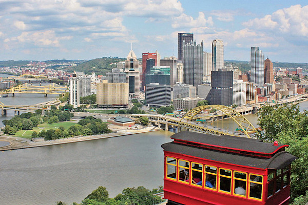 The Duquesne Incline overlooks the city.Courtesy of The Duquesne Incline, Mark McNally