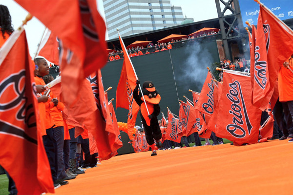 Courtesy of the Baltimore Orioles