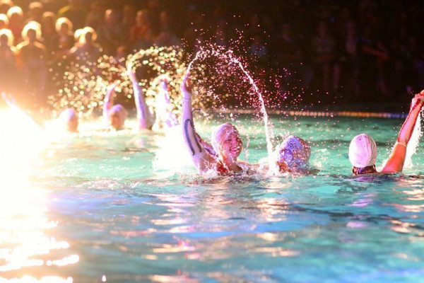 Baltimore's swimming spectacular returns to Druid Hill Park.Fluid Movement
