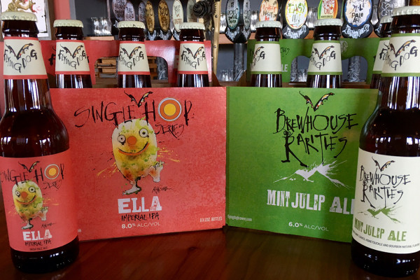 Flying Dog's latest spring releases.Photography by Jess Mayhugh