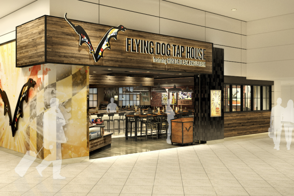 Flying Dog Tap House is expected to open on Concourse A by the end of this month. Courtesy of Flying Dog Brewery