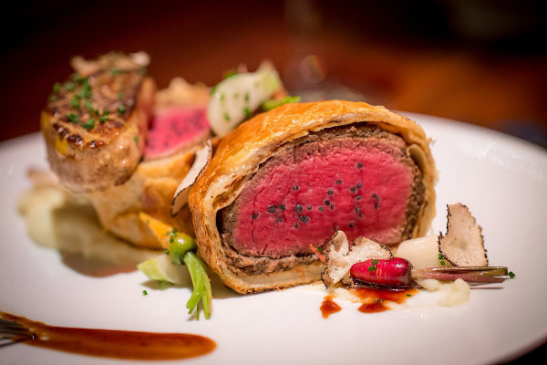 Gordon Ramsay's Beef Wellington.Courtesy of Caesars Entertainment